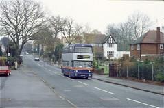 WMT 6866, Finchfield, Wolverhampton, 1996 (Lady Wulfrun) Tags: wmtfleetline6866 castlecroftroad wmt fleetline 6866 finchfield wolverhampton december 1996 westmidlands travel pte tvp866s