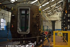 4116 at Inchicore, 19/7/17 (hurricanemk1c) Tags: railways railway train trains irish rail irishrail iarnród éireann iarnródéireann dublin inchicore 2017 caf mark4 intercity 4116 fleetcasualtyrepair