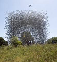 The Hive with Overflight (Bill in DC) Tags: uk london kew royalbotanicgardens 2017 thehive