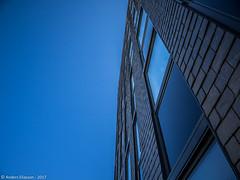 e-m1 17#030 (Red Brick 59) Tags: olympus12100mmf4 olympusomdem1 color blue black window sky building office