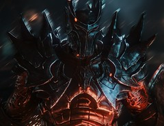 """First Warden"" [V.2] (L1netty) Tags: games screenshot portrait armor demon gaming reshade dof pc deck13 lordsofthefallen fantasy"