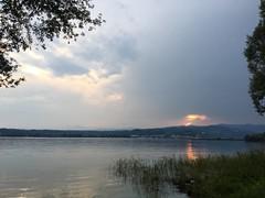 #lagomaggiore #tramonti #nofilter #2017 (saviodj23) Tags: lagomaggiore tramonti nofilter 2017