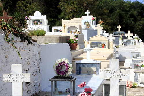 El cementiri d'Apostoloi, Creta - Grècia - Apostoloi, Crete, Graveyard