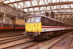 BRITISH RAIL 86206 CITY OF STOKE ON TRENT (bobbyblack51) Tags: british railways class 862 english electric bobo locomotive 86206 city of stoke on trent glasgow central station 1994
