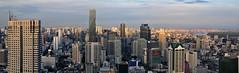 Bangkok 284-6 Panorama (SwissMike62) Tags: thailand bangkok city cityscape metropolis