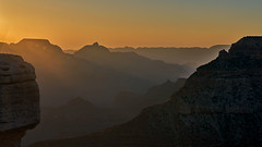 Grand Canyon - Sunrise Panorama (W_von_S) Tags: grandcanyon nationalpark mountains berge landschaft landscape panorama paysage paesaggio natur nature sun sonne sunrise sonnenaufgang morgen morning light licht sony wvons werner outdoor june juni 2017 silhouettes silhouetten