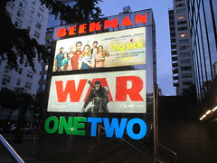 War of the Planet of the Apes Poster 8602 (Brechtbug) Tags: war planet apes poster beekman theater marquee billboard ad standee posters 2017 film movie profile 07152017 action movies films billboards plastic statue scary adventure ceasar caesar theatre advertisement chimp chimpanzee gorilla maurice orangutan 66th 67th street 2nd avenue new york city