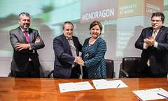 Firma de acuerdo entre MISE y la Universidad de Texas