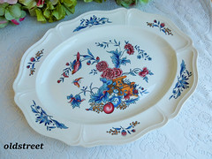 Wedgwood Serving Platter ~ Williamsburg Potpourri ~ Bird Butterfly (Donna's Collectables) Tags: wedgwood serving platter ~ williamsburg potpourri bird butterfly