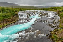 greenlands (Rolf Enderes) Tags: iceland island bruarfoss wasserfall waterfall water green