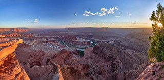 Sunset Panorama - Dead Horse Point State Park