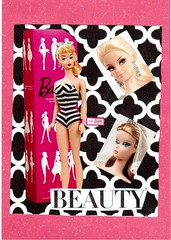 Barbie Beauty (booboo_babies) Tags: barbie barbiedoll doll dolls toy mailart art collage