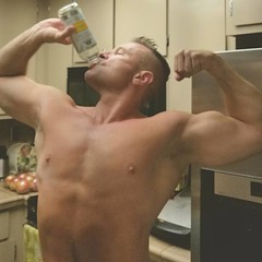 kombucha flex (ddman_70) Tags: shirtless flex muscle pecs abs kitchen