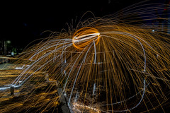 170714 7006 (steeljam) Tags: steeljam nikon d800 lightpainters olympic park canal hertford union wire wool spinning favourite