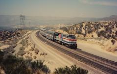 Amtrak AMTK 505 (GE B32-8W) Desert Wind Cajon Pass, CA, (terry.redeker) Tags: amtrak desert wind cajonpass