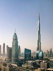 The Burj Khalifa Dubai (Steve Wampler Photography) Tags: dubai trip travel vacation burj khalifa building city