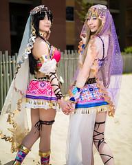 Colossal-2017 - Arabian Dancers-001 (Ruffshots Photography) Tags: colossalcon colossalcon2017 cosplay lovelive arabiandancer nico kotori