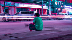 Lights will guide you home (Crispin Sta. Ines) Tags: long exposure lights color manipulation canon pancake street light philippines