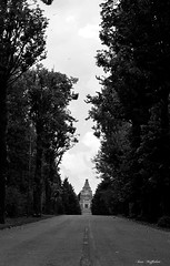 ° The wrong path (° Ivan) Tags: crespi dadda adda river village capriate san gervasio bergamo lombardy lombardia italy italia unesco path trail road wrong cemetery graveyard grave monument scary fear cypresses catholic freemason death 1800 800 positivism industrial