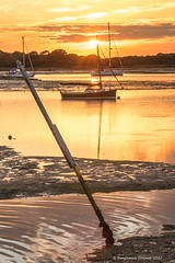Newtown creek (frattonparker) Tags: btonner boats lightroom6 nikond810 raw solent summer sunset tamron28300mm frattonparker yachts isleofwight reflections