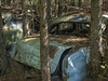Trapped (Brian Rome Photography) Tags: urbrx urbanexploration travel abandoned mcleans autowreckers beauty old rusty crusty derelict decay decayed outdoor lost ruin forgotten rockwood ontario