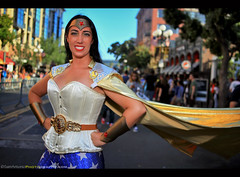 I flashed Wonder Woman at San Diego Comic Con International 2017! (Sam Antonio Photography) Tags: sandiegocomiccon2017 wonderwoman female cosplay fashion attractive model costume lady comic outdoors cosplayer superhero pose dccomics justiceleague demigoddess amazonian sdcc streetphotography samantoniophotography