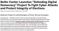 Yasha Levine: NSA, Google, CrowdStrike, Facebook, Hillary and Romney campaigns team up to save democracy. Can't make this up. /r/WikiLeaks https://twitter.com/yashalevine/status/887400707321679874 https://twitter.com/yashalevine/status/887400707321679874h (#B4DBUG5) Tags: b4dbug5 shapeshifting 2017says
