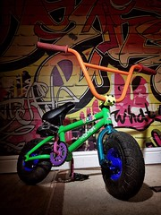 ROCKER MINI BMX (Hanners_) Tags: hanners iphoneography iphone5s iphone roguegridii rogue expoimaging yongnuo560ii ofc offcameraflash bmx rockerminibmx