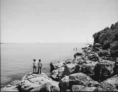 Classic summer (2) (scottlittle.nz) Tags: 120mm pentax67 kodak epsonv700 summer beachlife water brothers newzealand tauranga film