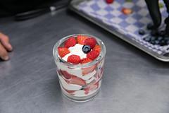 Orange-yoghurt curd