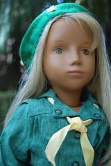 Girl Scout (Emily1957) Tags: girlscout vintage sashadolls sashadoll vintagesashadoll gotz earlygotzsashadoll german germandoll germany handpainted light naturallight nikond40 nikon kitlens dolls doll toys toy