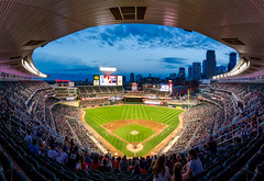 Target Field, home of the Minnesota Twins (james.moat) Tags: baseball stadium ballpark mlb night twins minnesota minneapolis