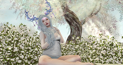 I'm the ghost in the back of your head (AriUGH) Tags: secondlife sl game games gaming virtual virtualgirl virtualgame lecoqdor yokai due caboodle mysteriousforest slevent newrelease slblog blogger deerhorns magicalgirl