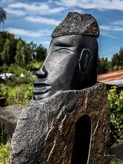 _61A5232.jpg (fotolasse) Tags: svartabergetlönsboda svarta berget hägghult lönsboda stenhuggeri svart sten stenbrott kran lyftkran natur kultur kulturminne arbete sweden sverige skåne hammare stone vatten water culture