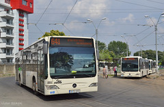 4664 - 641 - 24.07.2017 (VictorSZi) Tags: romania bucharest bucuresti ratb transport publictransport summer vara july iulie nikon nikond3100 mercedes mercedescitaro mercedescitaroeuro4 titan