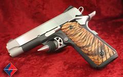 1911 Pistol, Fusion Firearms- Two tone finish (Fusion Precision Engineering) Tags: 1911coltpistol colt pistol m1911 m1911a1 custom1911pistols 9mm 45acp 40sw 10mm 38super 9x23 400corbon firearms 1911parts 1911assemblies lpasights fusion fusionfirearms