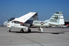 A-6A Intruder 155695 of VA-95 NL-532 (JimLeslie33) Tags: 155695 a6 a6a va va95 green lizards nl nl532 nas miramar whidbey island cvw15 uss coral sea cv43 naval aviation usn navy olympus om1 attack grumman intruder