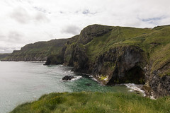 County Antrim, near Ballintoy (Jen Ma) Tags: ireland coastal drive north causeway holiday scenic uk county antrim ballintoy coast walk cave