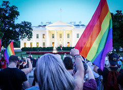 2017.07.26 Protest Trans Military Ban, White House, Washington DC USA 7682