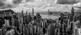 The Dragon City in BW