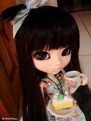 Helena ♥ (♥ MarildaHungria ♥) Tags: helena pullip fanatica regenerationseries groove doll cake food miniature kawaii cute