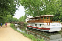 C&O Canal NHP ~ Canal & Towpath (karma (Karen)) Tags: greatfallsnp potomac maryland usparks cocanalnhp canals boats towpath locks tavern reflection hww