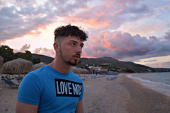 Love (plot19) Tags: love aaron son man teenager sunset sunrise greece skala family beach sea seascape seaside fashion fasion photography portrait plot19 holiday blue coast cool colour