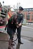 Hose (Gary Kinsman) Tags: canon5dmkii canoneos5dmarkii canon28mmf18 london southwark se1 stc southwarktrainingcentre lfb londonfirebrigade firebrigade fireservice hose candid spray firefighters 2012 unposed laugh firefighter people person