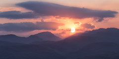 Trossachs Sunset (J McSporran) Tags: scotland trossachs lochlomondandtrossachsnationalpark benaan landscape canon6d ef70200mmf28lisiiusm