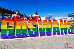 Swans DAP Launch and Training SCG-0262 (A u s s i e P o m m) Tags: rainbowswans sydneyswans afl pyrmont newsouthwales australia au