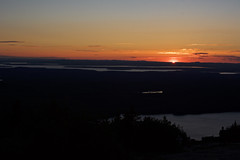 Cadillac Mountain Sunset (nevinshrom) Tags: mountain acadia national park maine nikon d5200 sunset outdoors landscape