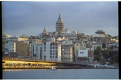 View of the Galata Bridge and Galata Tower (Alimkin) Tags: turkey istanbul стамбул турция пленка 35mm 35mmphotography analogfilm alimkin analogphotography architecture analog believeinfilm bosphorus bridge color canon constantinople colorfilm city film filmphotography filmisnotdead filmforever filmshooters guynadin galata ng ngc traditionalphotography travelphoto trip street streetphotography shootfilm sight