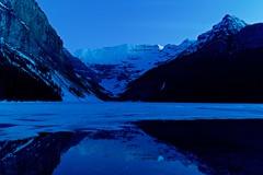 Lake Louse Pre Dawn (anthonymaw) Tags: canada lake lakelouise mountain rockies