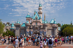 Sleeping Beauty Castle (Justlai87) Tags: disneylandresort disneylandcalifornia disneylandanaheim disneyland california fantasyland sleepingbeautycastle sleepingbeauty castle mainstreetusa